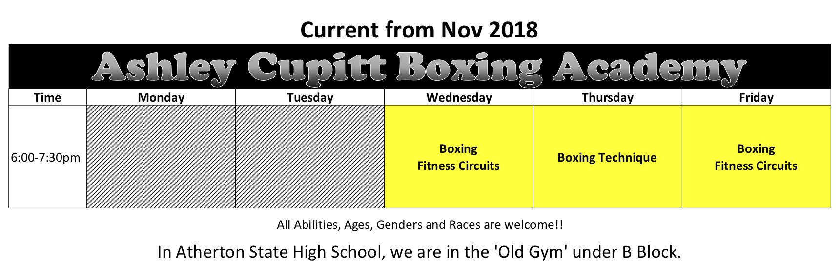 timetable2018.11ashs